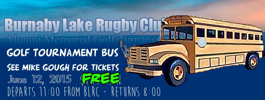 Golf Tourney Bus 2015