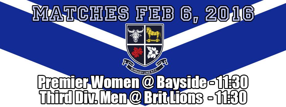 Matches Feb 6 2016