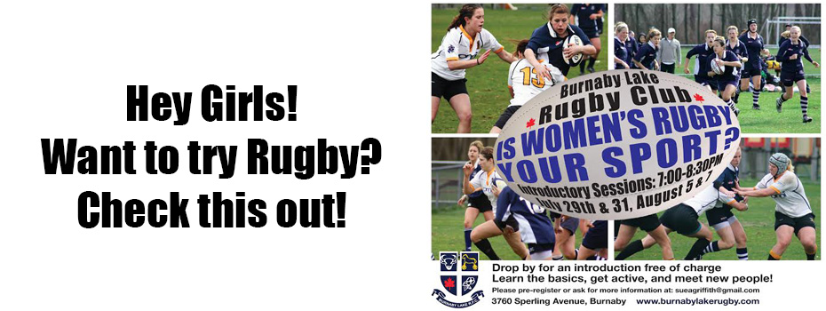 Girls Intro to Rugby Banner