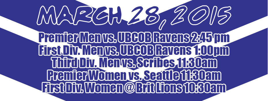 Matches March 28, 2015