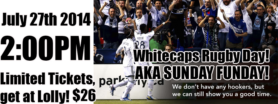 Whitecaps Banner